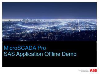 MicroSCADA  Pro
