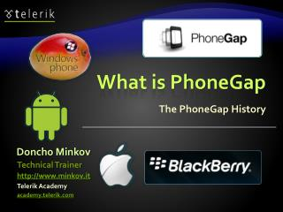 What is PhoneGap