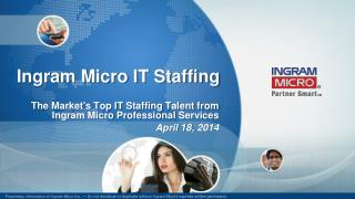 Ingram Micro IT Staffing