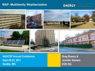 WAP: Multifamily Weatherization