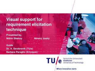 Visual support for requirement elicitation technique