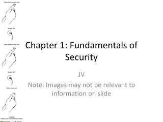 Chapter 1: Fundamentals of Security