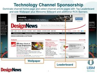 Technology Channel Sponsorship