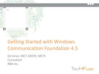 Getting Started with Windows Communication Foundation 4.5