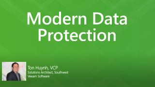 Modern Data Protection