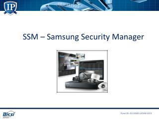 SSM – Samsung Security Manager