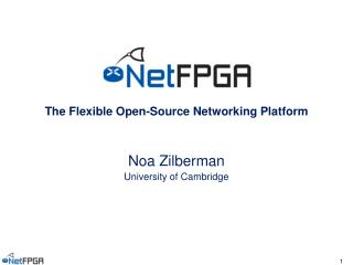 The Flexible Open-Source Networking Platform