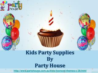 Kids Party Supplies by PartyHouse