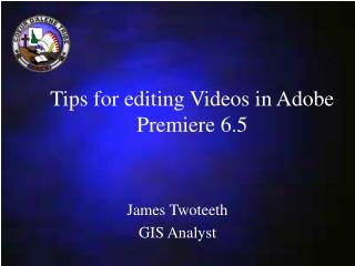 Tips for editing Videos in Adobe Premiere 6.5