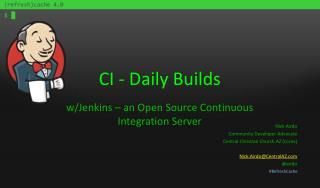 CI - Daily Builds