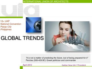 INTERNATIONAL UNION OF ARCHITECTS