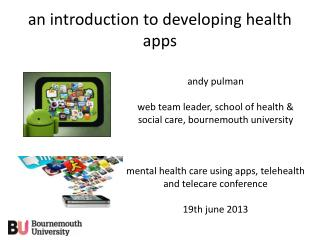 an  introduction  to developing health  apps