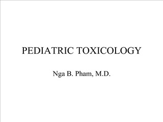 pediatric toxicology