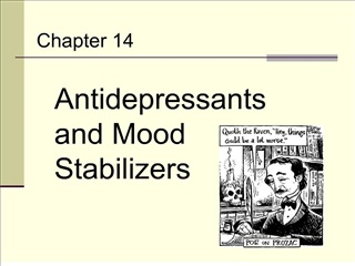 antidepressants and mood stabilizers