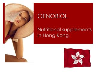OENOBIOL Nutritional supplements  in Hong Kong