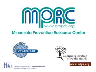 Minnesota Department of  Human Services Alcohol and Drug Abuse Division