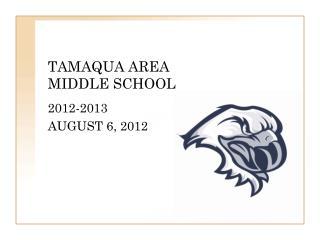 TAMAQUA AREA MIDDLE SCHOOL