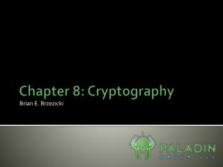 Chapter 8: Cryptography