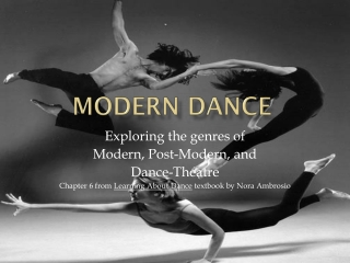 technical  expressive nature of dance