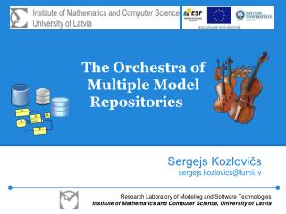 The Orchestra of Multiple Model Repositories
