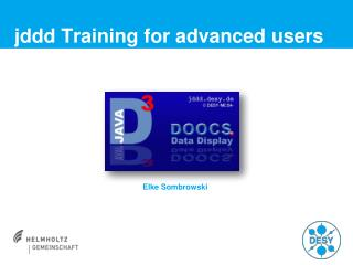 jddd  Training  for advanced users