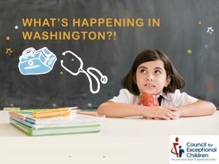 What's Happening in Washington?!