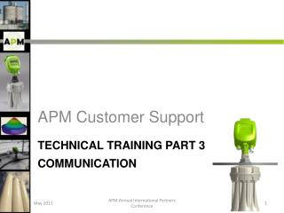 Technical Training Part 3   Communication