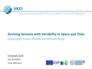 Deriving Variants with Variability in Space and Time