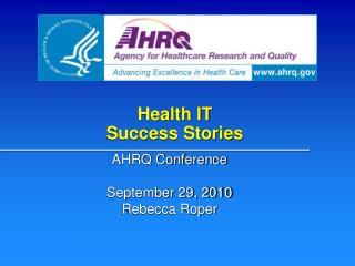 Health IT Success Stories