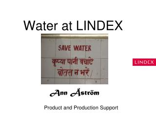 Water at LINDEX