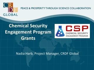 Chemical Security Engagement Program Grants
