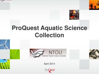 ProQuest Aquatic Science Collection
