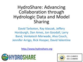 HydroShare:  Advancing Collaboration through Hydrologic Data and Model Sharing
