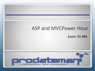 ASP and  MVCPower Hour