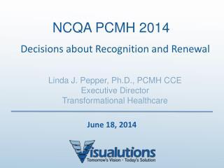 NCQA PCMH 2014