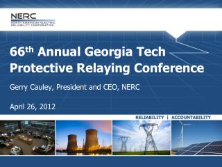 66 th  Annual Georgia Tech Protective Relaying Conference