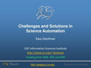 Challenges and Solutions in  Science  Automation