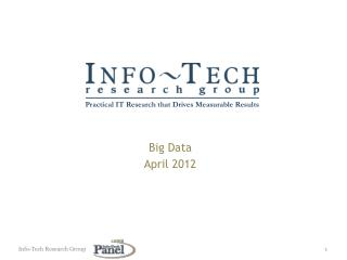 Big Data April 2012