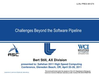 Challenges Beyond the Software Pipeline