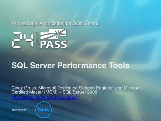 SQL Server Performance Tools
