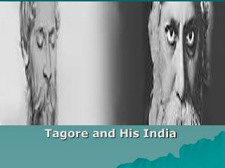 Tagore and His India