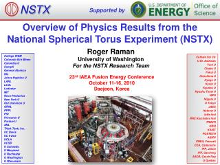 Overview of Physics Results from the National Spherical Torus Experiment (NSTX)