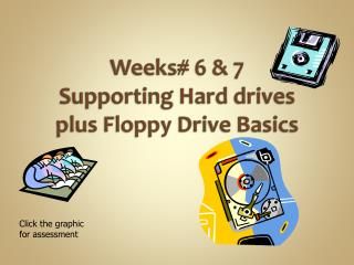 Weeks# 6 & 7 Supporting Hard drives plus Floppy Drive Basics