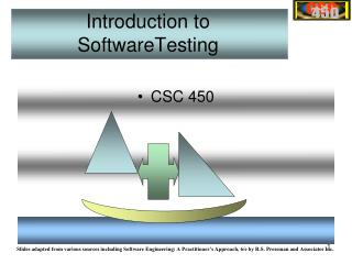 Introduction to SoftwareTesting