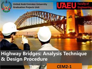 Highway Bridges: Analysis Technique & Design Procedure