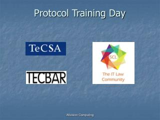 Protocol Training Day