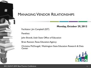 Managing Vendor Relationships