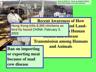 Recent Awareness of How Human Activities and Land-uses are Linked to Human Health and Disease Transmission among Humans