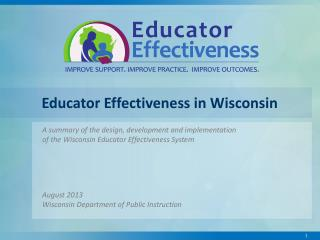 Educator Effectiveness in Wisconsin