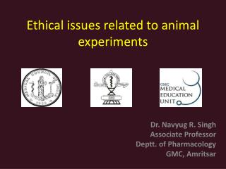 Ethical issues related to animal experiments